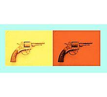 Guns Photographic Print