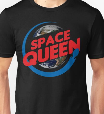 Space Queen feat. Earth Unisex T-Shirt