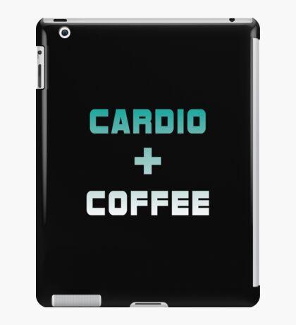 Cardio & Coffee iPad Case/Skin