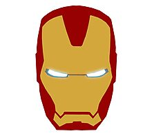 Iron Man Helmet Photographic Print