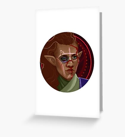 Inquisitor Health Token  Greeting Card