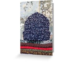 woman's hat Greeting Card
