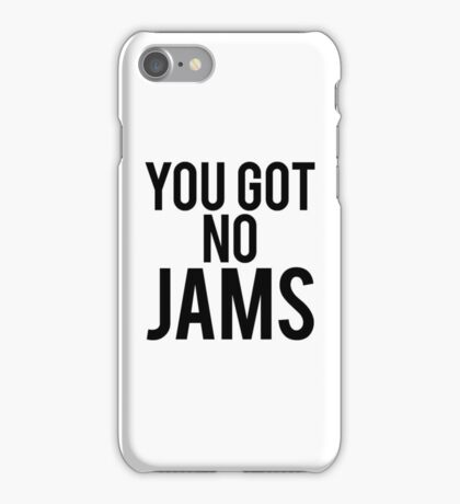 BTS NO JAMS iPhone Case/Skin