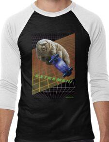 Tardigrade EXTREME 80's Space Skateboard Men's Baseball ¾ T-Shirt
