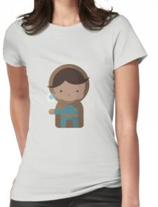 Little Mage Womens Fitted T-Shirt