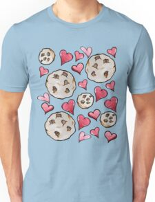 Chocolate Chip Cookie Lover Unisex T-Shirt