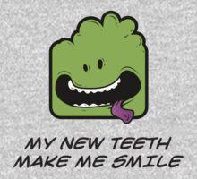 MY NEW TEETH MAKE ME SMILE Kids Tee