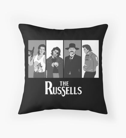 The Russells Throw Pillow