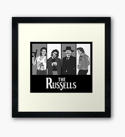 The Russells Framed Print