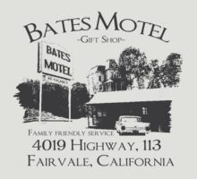 Bates Motel by SecretNinja