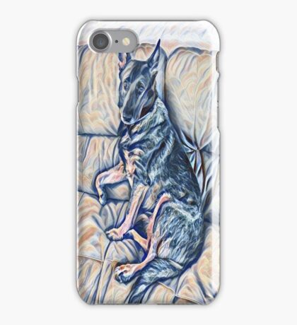 Elegance Of A Shepherd iPhone Case/Skin