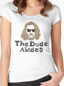 Dude Lebowski Women's Fitted Scoop T-Shirt