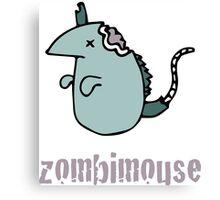 Zombimouse Canvas Print