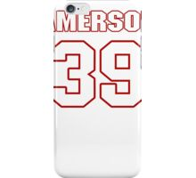 NFL Player David Amerson thirtynine 39 iPhone Case/Skin