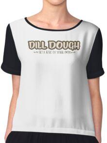 Dill Dough Chiffon Top