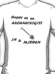 Happy Archaeologist T-Shirt