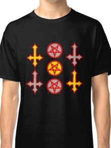 PENTAGRAMS AND CROSSES YandG Classic T-Shirt