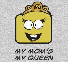 MY MOM'S MY QUEEN Kids Tee