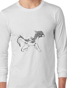Horse-type Dragon Long Sleeve T-Shirt