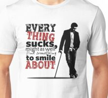 Everything sucks Unisex T-Shirt