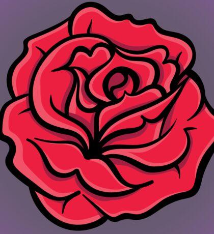 Rose Sticker Sticker