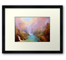 The Great River Framed Print