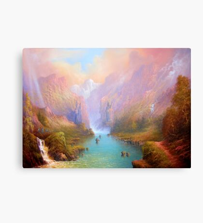 The River Great. Canvas Print
