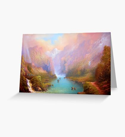 The River Great. Greeting Card
