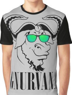 GNURVANA Graphic T-Shirt