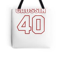 NFL Player Mike Caussin forty 40 Tote Bag