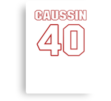 NFL Player Mike Caussin forty 40 Metal Print