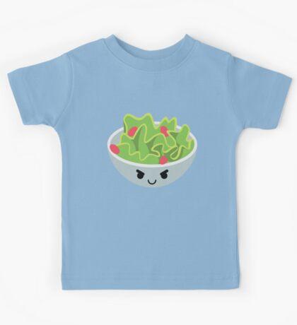 Salad Emoji Naughty and Cheeky Kids Tee