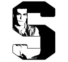 S is for Simon Photographic Print