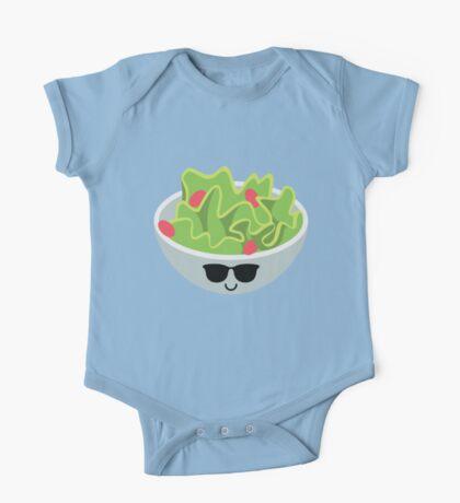 Salad Emoji Cool Sunglasses One Piece - Short Sleeve