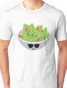 Salad Emoji Cool Sunglasses Unisex T-Shirt
