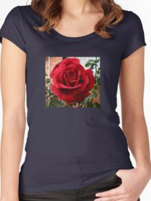 A Rose Without Thorns Women's Fitted Scoop T-Shirt