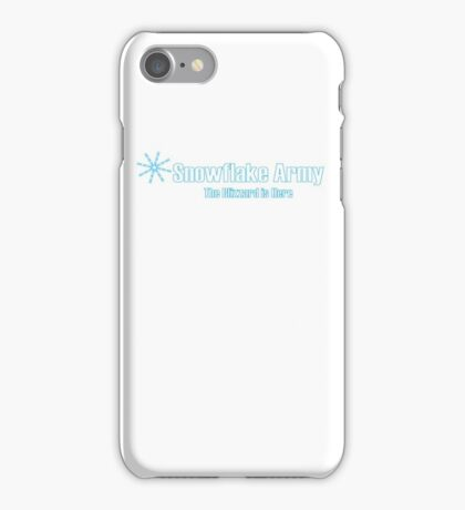 Snowflake Army iPhone Case/Skin