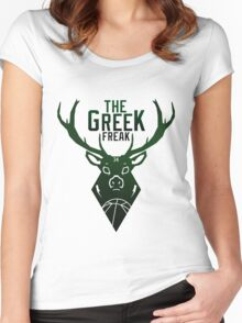 The Greek Freak Women's Fitted Scoop T-Shirt