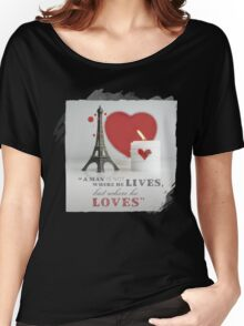 Valentine Loves Women's Relaxed Fit T-Shirt