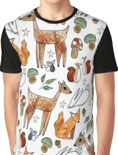 Lil Critters Graphic T-Shirt