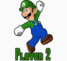 Luigi Player Two Unisex T-Shirt