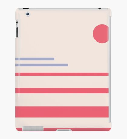 Abstract minimalistic landscape iPad Case/Skin