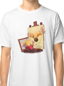 Calvin And Hobbes Sketch Classic T-Shirt