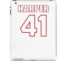 NFL Player Roman Harper fortyone 41 iPad Case/Skin