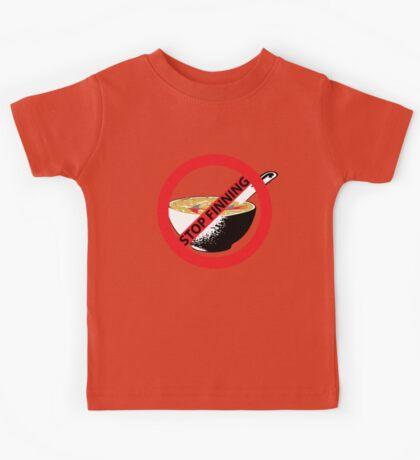 STOP FINNING SHARKS Kids Tee