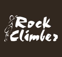 Rock Climber by SportsT-Shirts