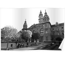 Városháza (b&w) Poster
