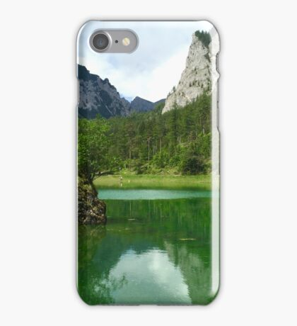 Green Lake 3 iPhone Case/Skin