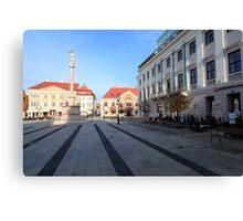 City square Canvas Print