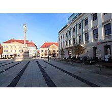 City square Photographic Print